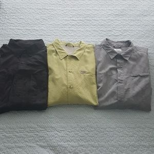 Men's Columbia shirt bundle